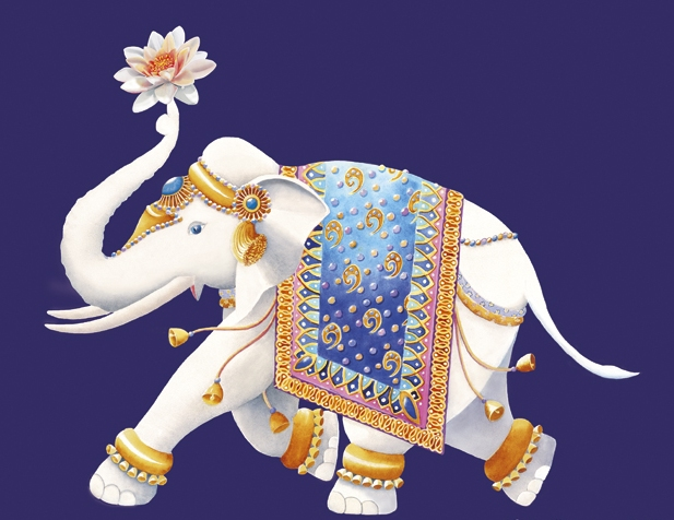 Elefant impodobit